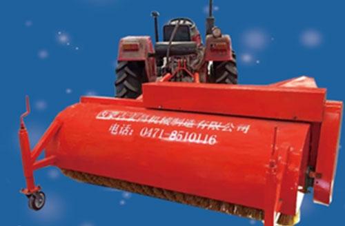 牵引式扫雪机